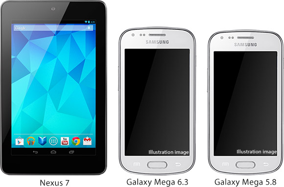 Samsung Galaxy Mega 6.3 and Galaxy Mega 5.8 specifications leaked